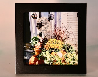 Small Framed Art - Fall/Autumn - Wall or Tabletop