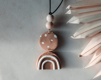 Locally Clayed HandCrafted Polymer Clay Accessories Car Diffuser