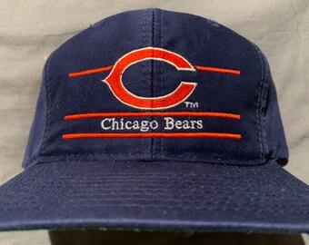 in stock bf8ae 2f18c NWOT Vintage ANNCO Split Bar Chicago Bears Snapback Hat