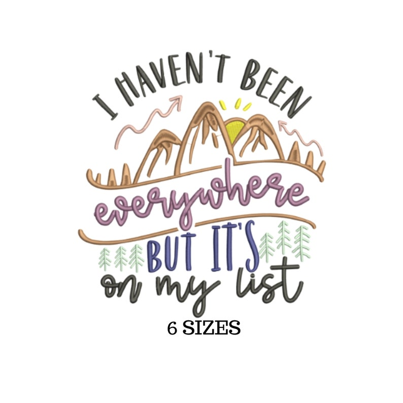 Travel Quotes Travel Embroidery Travel Design Travel Theme Vacation Design Adventure Embroidery