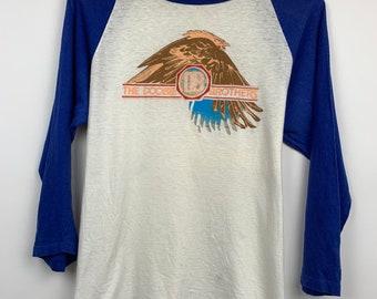 Vintage Single Stitch 1987 The Doobie Brothers Promo Rock Tee. 80s Doobie Brothers Promo T-Shirt