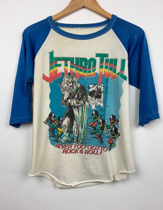 Vintage Jethro Tull 1970's Band T Shirt