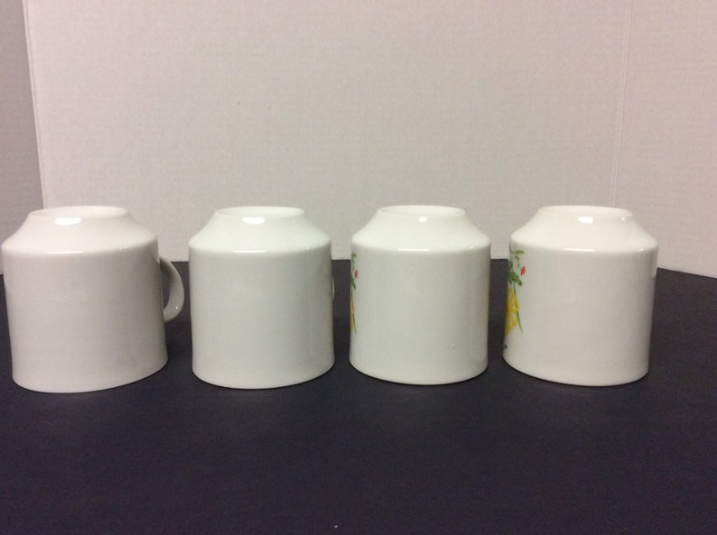 Vintage Hand Painted Small China TeaCoffee Cups