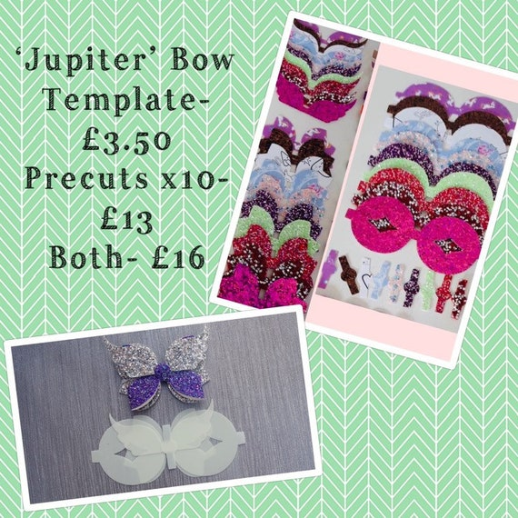 Make Your Own Bows Beautiful Peekbow Butterfly Hairbow Precut Bows