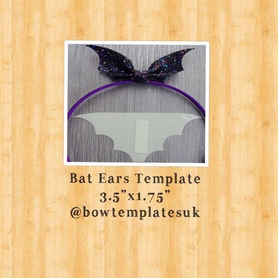 DIY halloween bow set Pre cut halloween bow set precut hairbows die cut bows