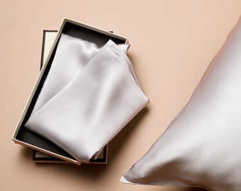 22 Momme Pure Mulberry Silk Pillowcase/Anti Ageing/Anti Acne