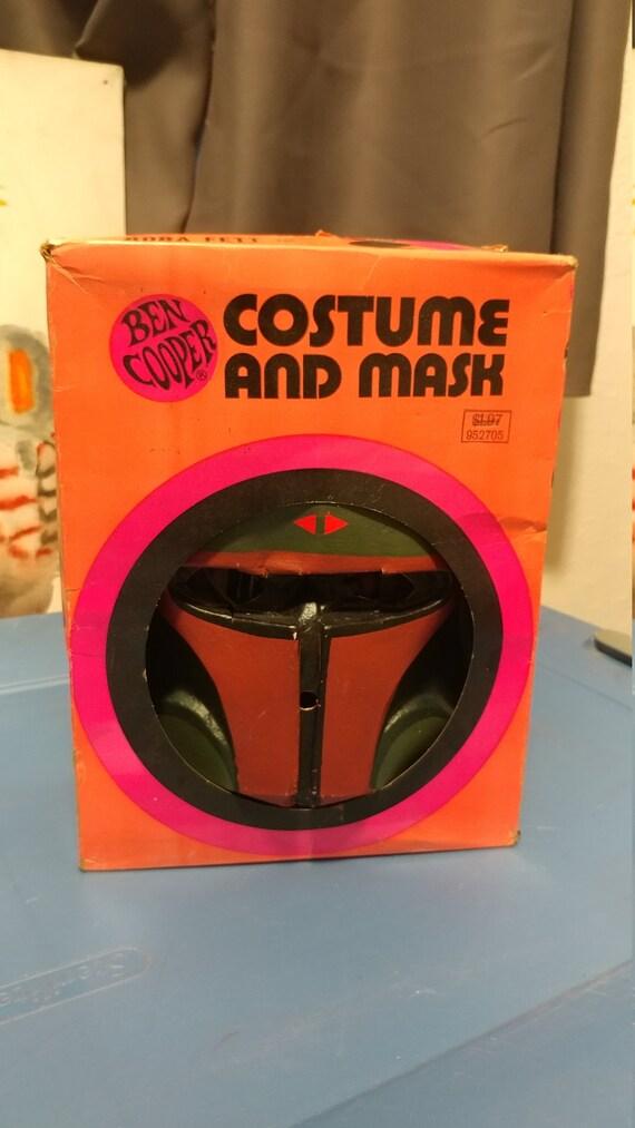 Vintage Ben Cooper Costume Star Wars Boba Fett POT