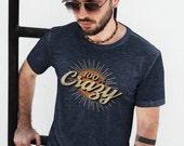 100% Crazy Vintage Style | Unisex & Men's T-shirt
