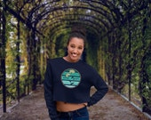 Shy Girl | Women's Crop Sweatshirt