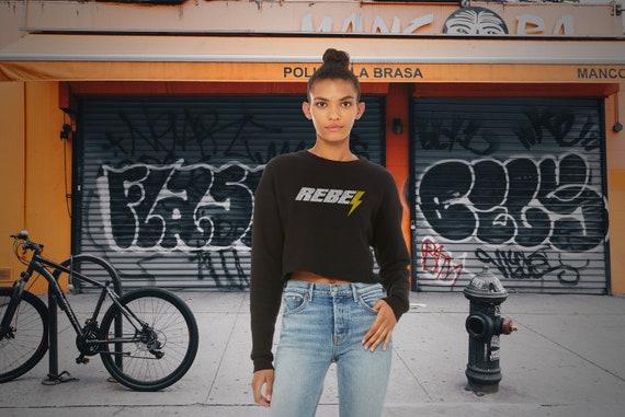 Rebel | Women's Crop Sweatshirt