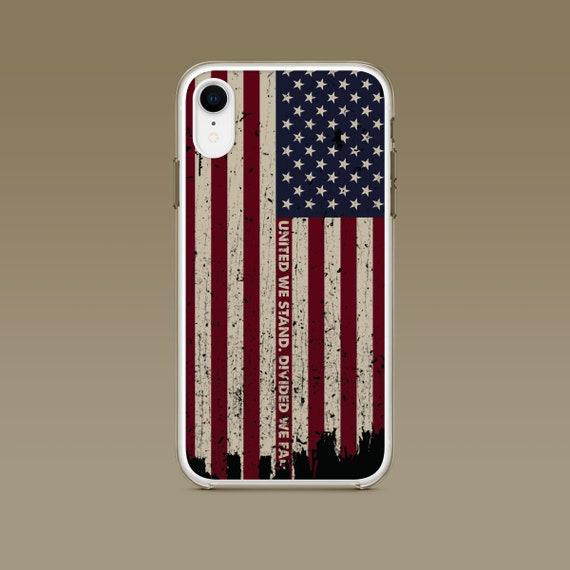 iPhone: United We Stand Patriotic Phone Case