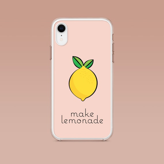 iPhone: Make Lemonade Aesthetic Phone Case