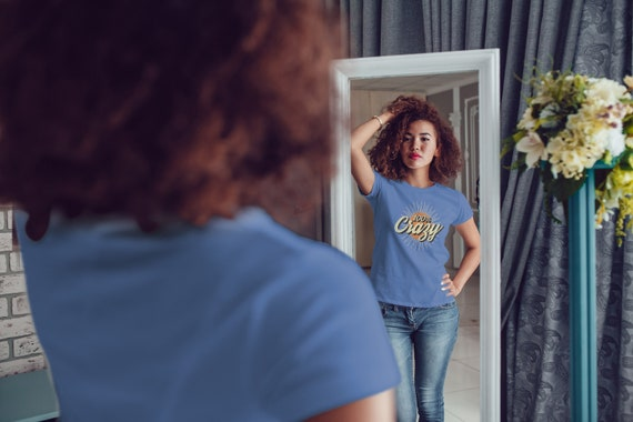 100% Crazy Vintage Style | Women's Fitted T-Shirt