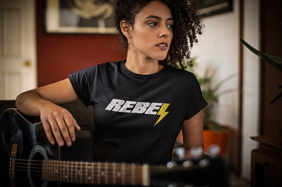 Rebel   Women's Fitted T-Shirt
