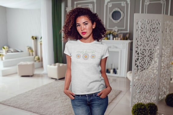 Simply Beautiful | Women's Fitted T-Shirt