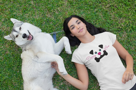 Puppy Love | Women's Relaxed Fit T-Shirt