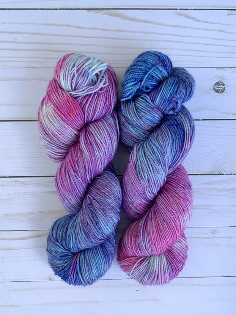 Cereus Sock Cloud Candy Hand Dyed Sock Yarn