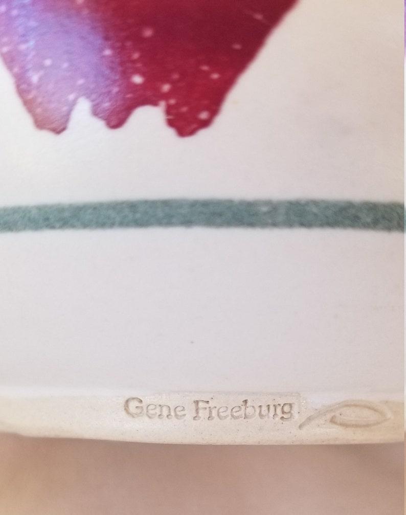 Gene Freeburg Batter Bowl Apple Bowl
