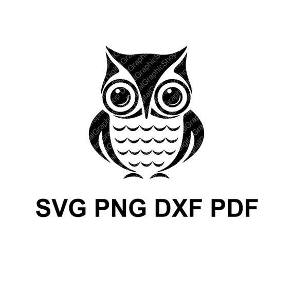 silhouette cut files commercial use cricut Owl SVG Owl Clipart