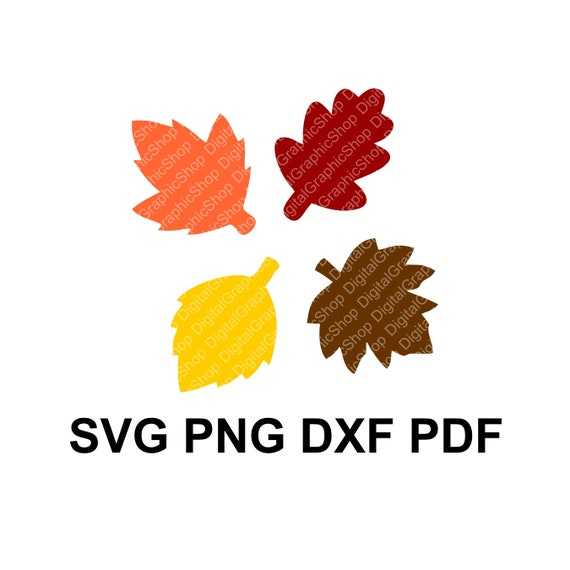 Fall Leaf Svg Fall Leaves Autumn Leaf Clipart Vector Etsy
