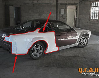 GTR Tail Light Covers for Nissan Skyline R34 Rear Light Conversion v8