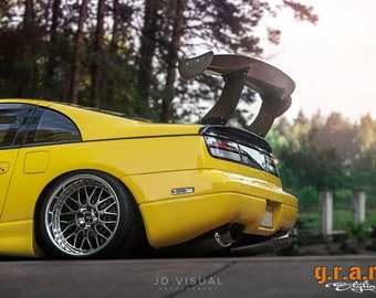 """Primed Touring Style Universal ABS Adjustable Racing Spoiler 58/"""" x 20/"""" x 8.5/"""""""