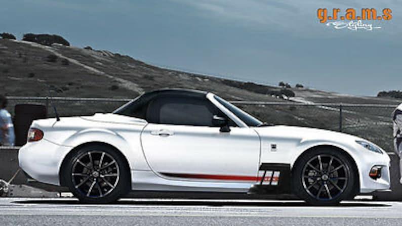 Side Skirt V6 Performance Mazda MX-5 Aero Side Diverters for Body Kit