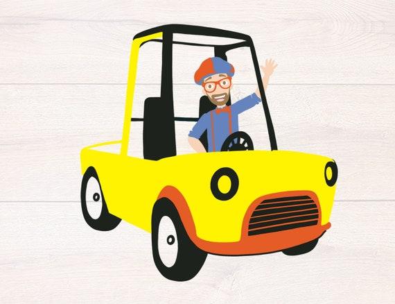 blippi construction svg Blippi svg Blippi toy svg blippi truck svg cut file for cricut