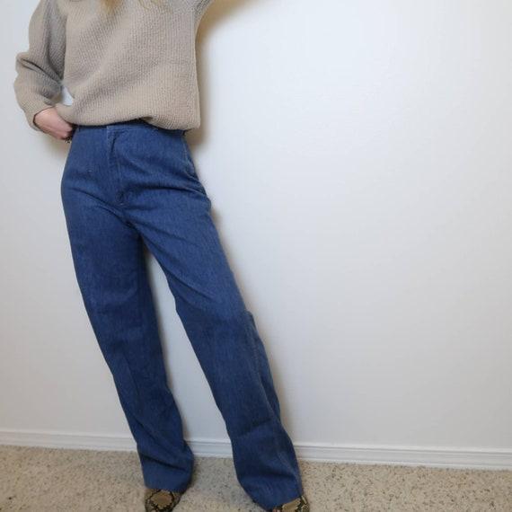 Vintage 70's Levi's wide leg jeans