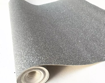 Silver Gray Weave Textured Faux Leather Sheets K2-104 Vinyl Fabric Sheet