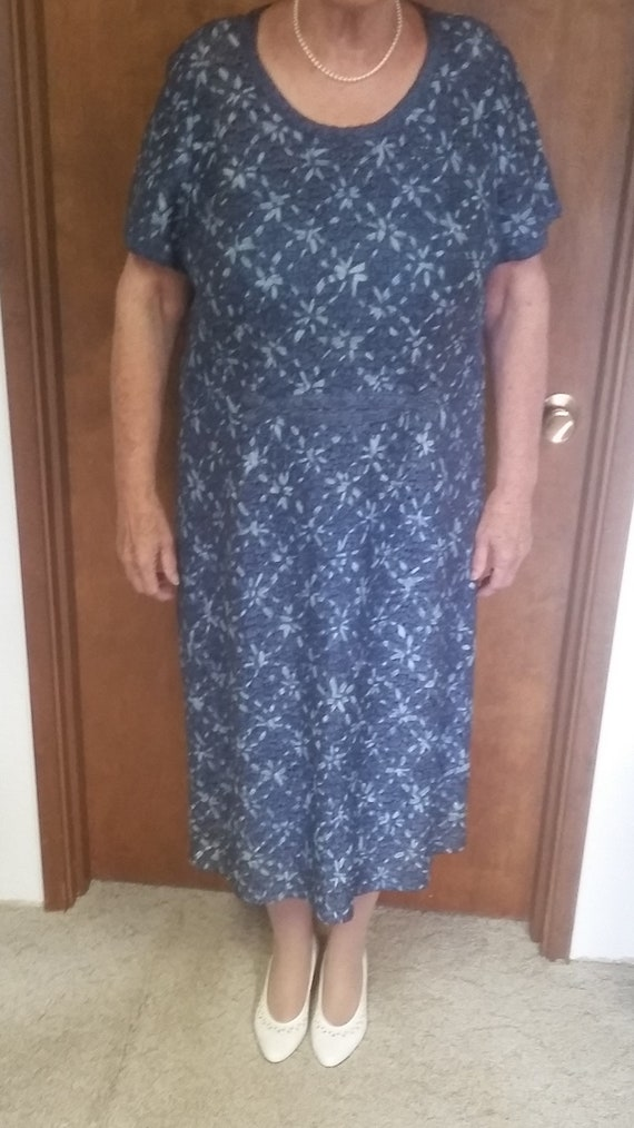 Classic vintage ribbon dress