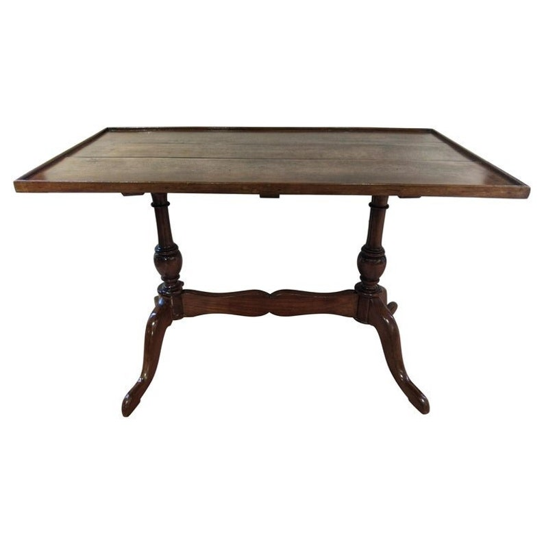 Awesome Early 20Th Century Regency Walnut Low Side Sofa Table Restored Gmtry Best Dining Table And Chair Ideas Images Gmtryco