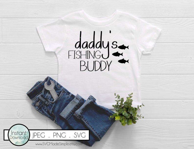 Download Baby Svg Cut Files For Cricut And Silhouette Daddy S Fishing Buddy Svg For Commercial Use And Instant Download Quotes For Onesie Baby Gift Clip Art Art Collectibles