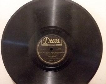 Holiday 78 record | Etsy