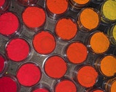"Neon UV Reactive Fluorescent Fire Yellow Orange Red 6 Stack Bundle ""Firestarter"" For Eyes Face Makeup Nails Eyeliner Pigment Body Paint"