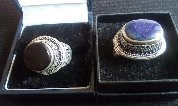 medieval rings.