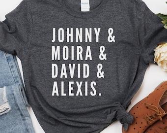Rose Family Names, Johnny Moira David Alexis, Rosebud Motel