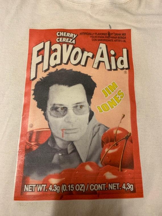 FlavorAid Jim Jones suicide cult t-shirt | Etsy