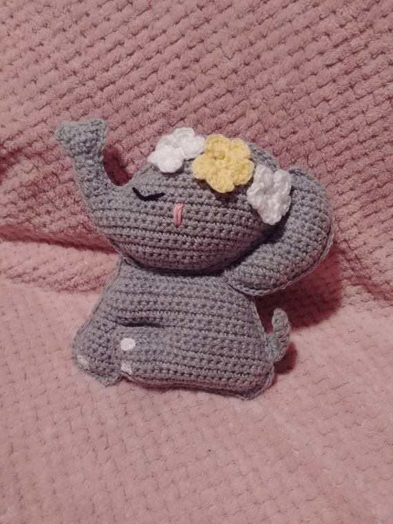 crochet elephant amigurumi - YouTube | 760x570