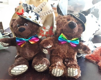 Dandy and Dapper - Rainbow Steampunk Bears