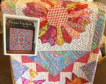Blooming Pinwheels Pattern