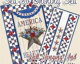 America the Beautiful Quilt Kit from Moda