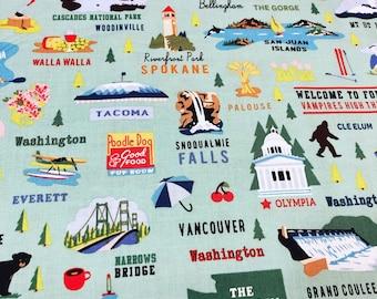Northwest Washington Fabric from Riley Blake Designs
