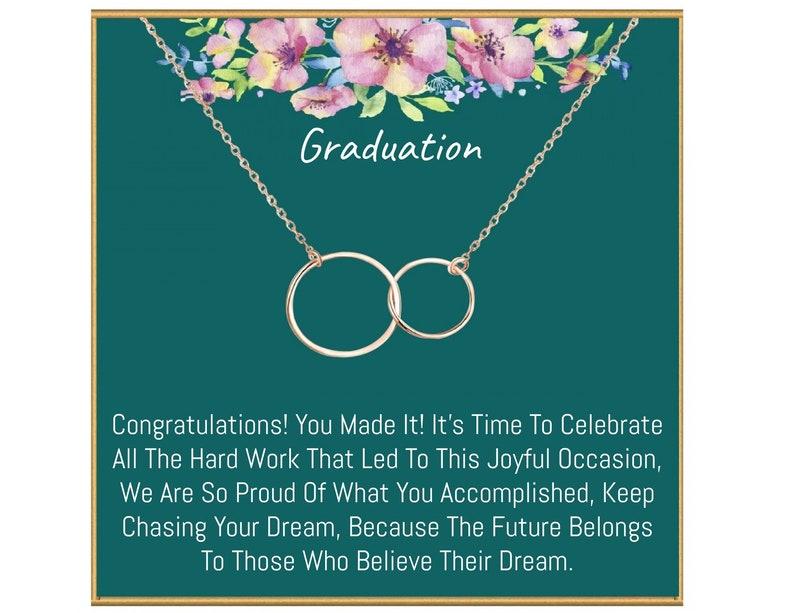 High School Graduation Gift Graduation Necklace College Graduation Gift Graduation gift for her