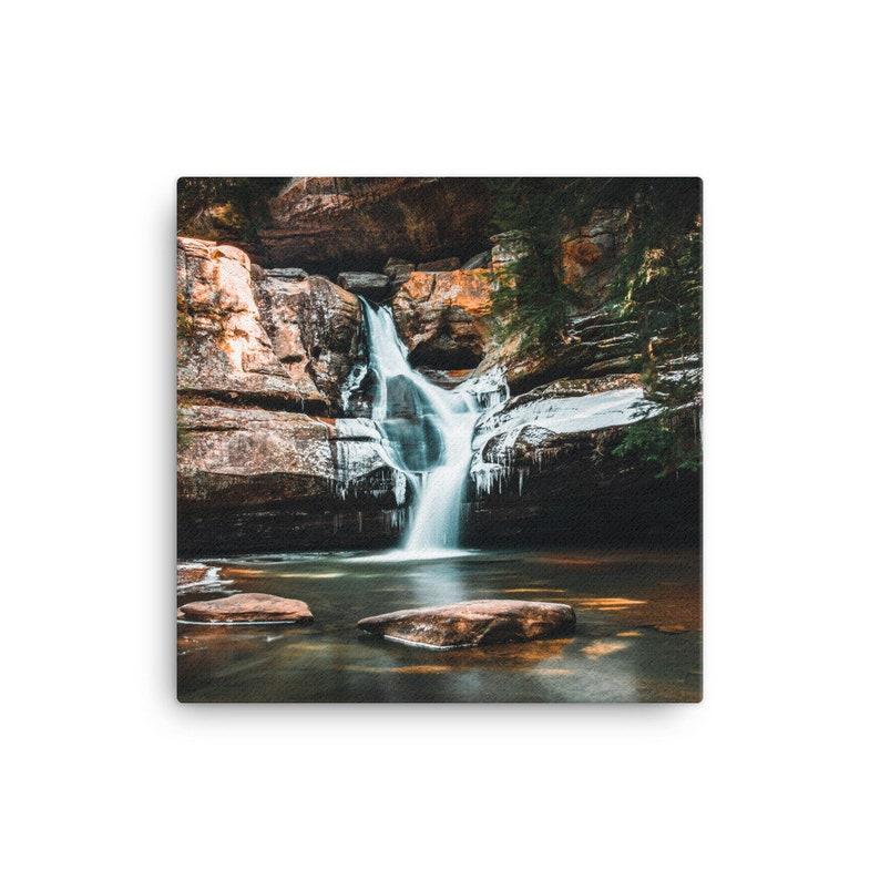 Cedar Falls Canvas Print