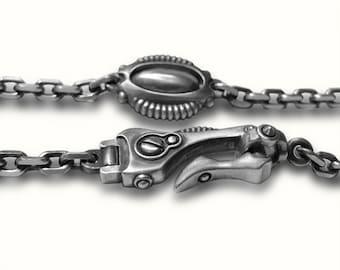 Original Space Chain , Silver S925, Handmade Jewelry