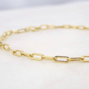 Gold Chain Bracelet 18g Byzantine Handmade 14k gold filled Chain maille Bracelet Out of Town 723-87 2019
