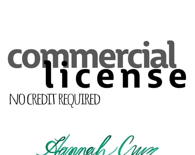 Commercial License for Clipart