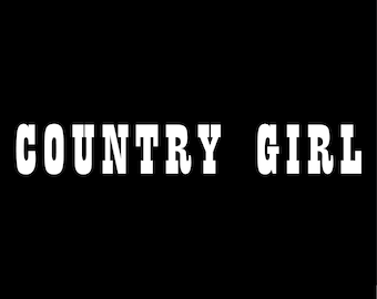 "Her Cowboy Vinyl Decal 5/"" Truck Camo Muddy Couples Sticker Rodeo Outdoors Lover"