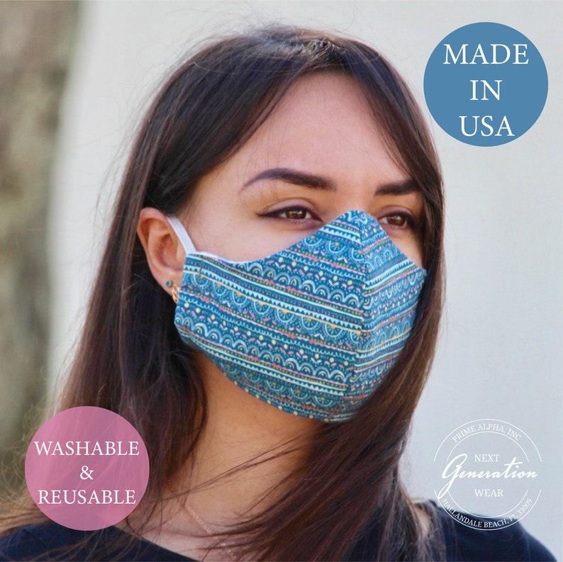 1X Women Men Cotton Face Masks Pattern Solid Black Mask Half Face Mouth GX